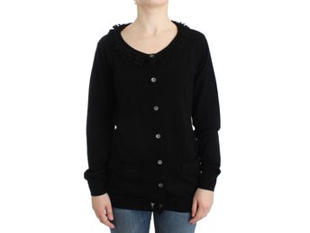 Galliano - Black wool cardigan