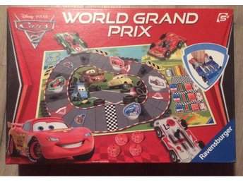 Cars 2 world grand prix - sällskapsspel