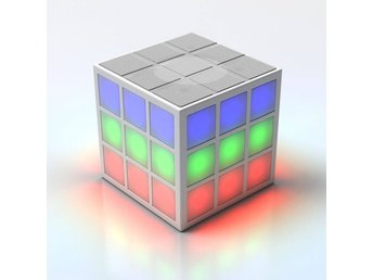RUBIKS KUB Bluetooth-Högtalare LED