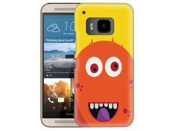 HTC One M9 Skal Orange Monster