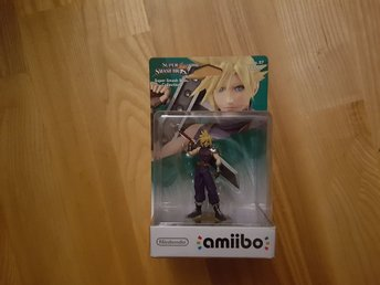 Nintendo Amiibo. Super Smash Bros Collection - Cloud. Ny