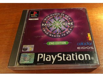 Who Wants To Be A Millionaire 2nd Edition - Komplett -PS1- Vem Vill Bli Miljonär