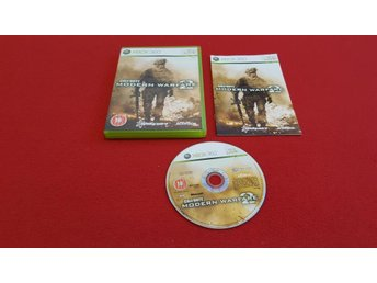 CALL OF DUTY MODERN WARFARE 2 till Xbox 360