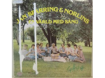 Jan Sparring & Norlins-En värld med sång / LP