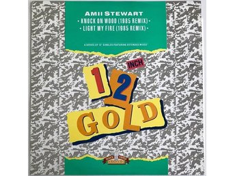 "Amii Stewart – Knock On Wood (1985 Remix) 12"" Maxi 1990"
