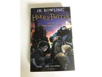 Harry Potter and the Philosopher's Stone (engelska)