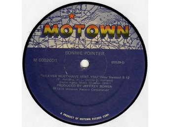 "Bonnie Pointer – Heaven must have sent you (Motown 12"")"