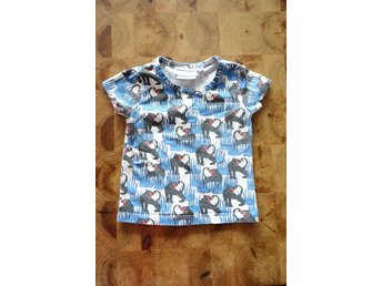 MINI RODINI; T-shirt Panther, Stl 80/86