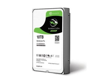 "Seagate BarraCuda Pro Desktop HDD 3,5"" 10TB, 256MB, 7200RPM"