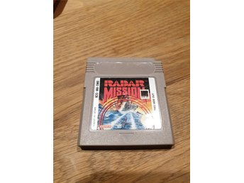 Radar Mission SCN GAME BOY
