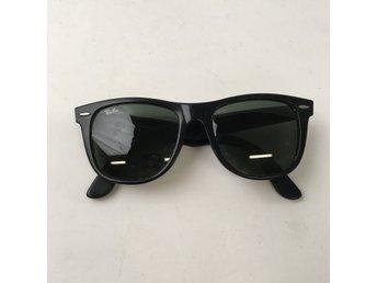 Ray Ban, Solglasögon, RB 2140, Wayfarer, Svart
