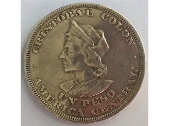 EL SALVADOR Un Peso 1894 REPUBLICA DEL SALVADOR Svårt Mynt - Saltsjöbaden - EL SALVADOR Un Peso 1894 REPUBLICA DEL SALVADOR Svårt Mynt - Saltsjöbaden
