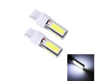 T20 LED Dimljus 10W 6500K vit - 2Pack
