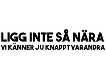 Bil dekor Svart 6x30 cm Vinyl / Folie / Dekal / Utomhus / Bil / Bildekal - Kungsgården - Bil dekor Svart 6x30 cm Vinyl / Folie / Dekal / Utomhus / Bil / Bildekal - Kungsgården
