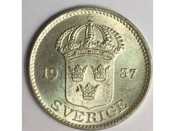 25 öre 1937 - stort G - Uppsala - 25 öre 1937 - stort G - Uppsala