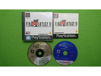 Final Fantasy VI KOMPLETT med Final Fantasy X Demon Playstation ps1