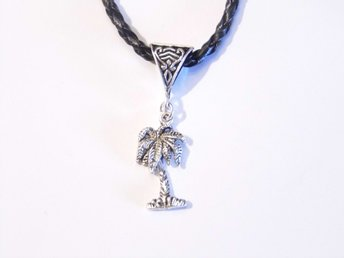 Palmträd halsband / Palm tree necklace