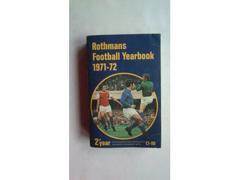 Rothmans Football Yearbook 1971-72. Arsenal The Double.