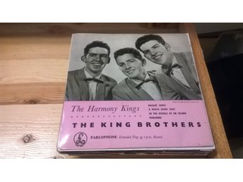 The King Brothers With Geoff Love & His Orchestra - The Harmony Kings, EP