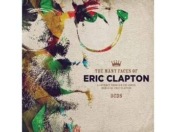 Many Faces of Eric Clapton (Digi) (3 CD)