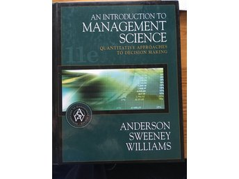 An introduction to Management Science (MBA kurs literatur)