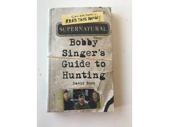 Supernatural Bok Bobby Singer's Guide to Hunting