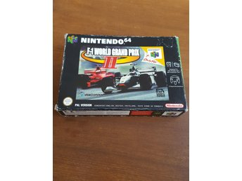 F-1 world grand prix 2 N64