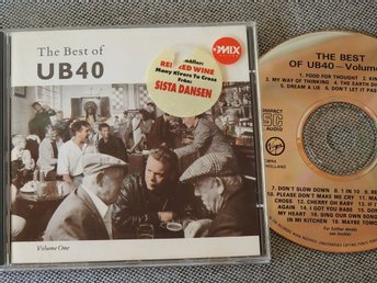 The Best of UB40 Volume 1 CD 1987 Red Red Wine,Cherry Oh Baby,I Got You Babe