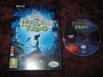 THE PRINCESS AND THE FROG PC CD-ROM (WALT DISNEY) SVENSKSÅLD
