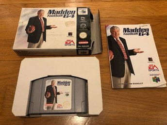 Madden Football 64 CIB - N64