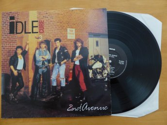 "LP- IDLE CURE - "" SECOND AVENUE ""  Style : Rock .Eur. 1990"