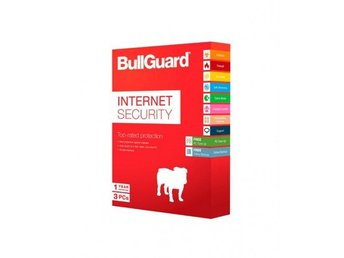 Bullguard Internet Security 2018 3 användare i 1 år