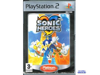SONIC HEROES PS2 PLATINUM