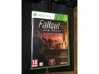 Fallout New Vegas ultimate Edition, BAKÅTKOMPATIBEL, Xbox one 360, tv-spel, REA