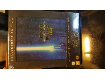 Ny STAR WARS THE FORCE AWAKENS 3D BLURAY