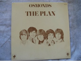 THE OSMONDS---THE PLAN  TEXTER  PLANCH INSP 1973 MGM RECORDS