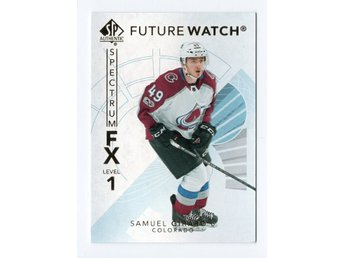 17-18 SP Authentic Spectrum FX Future Watch Bounty Samuel Girard