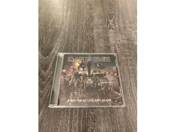 Iron Maiden - A Matter Of Life And Death - CD Album