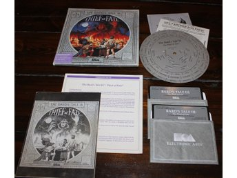 C64 - Bards Tale III: Thief of Fate (Disk) (Beg)