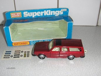 Matchbox - Volvo 245 Estate + Originalask - Vintage Retro 1979