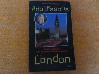 ADOLFSSONS LONDON, KRISTINA ADOLFSSON, 1997,  BOK, BÖCKER