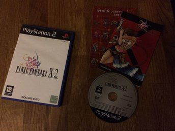 FINAL FANTASY X-2  PS2 PLAYSTATION 2 SQUARE ENIX