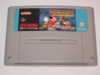 The Magical Quest - Mickey Mouse till Super Nintendo SNES