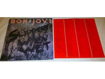 Bon Jovi - Slippery When Wet (LP)