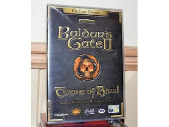 BALDURS GATE 2 : THRONE OF BHAAL - ny /mint/ förseglad