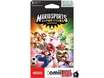 Amiibo Cards Mario Sports Superstars Pack (5st Slumpmässiga kort)