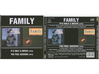 FAMILY - It's Only A Movie/ The Peel Session 7bonus (CD) - Minsk - FAMILY - It's Only A Movie/ The Peel Session 7bonus (CD) - Minsk