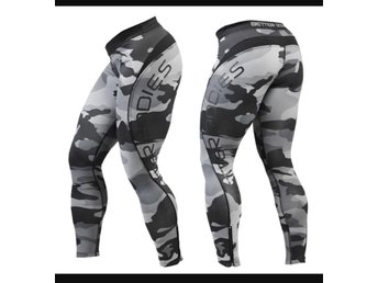 BETTER BODIES CAMO tights / leggings stl S