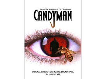 Candyman soundtrack Cassette Clive Barker and Philip Glass