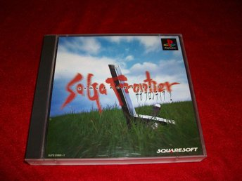 Saga Frontier 2  RPG PS1 JAP